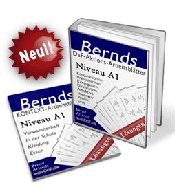 Arbeitsblätter für Deutsch als Fremdsprache A1