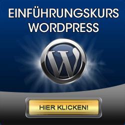 WordPress - Online Einführungskurs