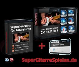 Super Gitarre Spielen - Online Coaching