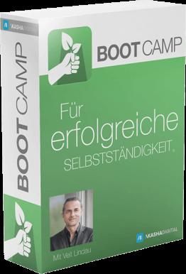 Bootcamp - Erfolgreiche Selbstständigkeit 2.0 - Komplettkurs