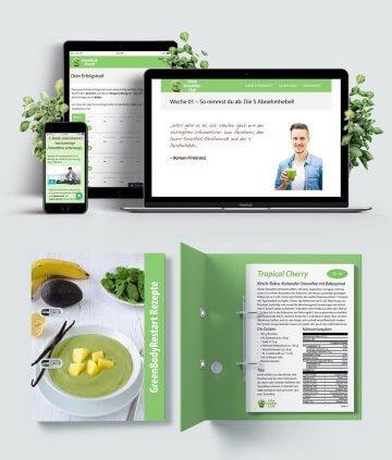 GreenBodyRestart: 12-Wochen-Grüne-Smoothies-Abnehmprogramm - Online Kurs