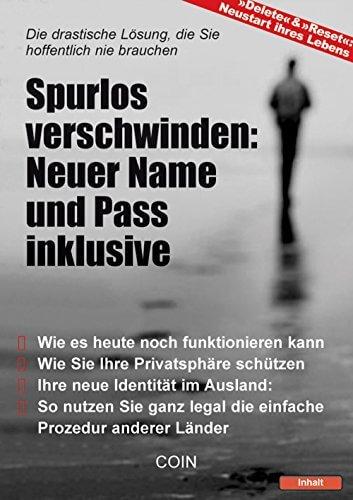 Spurlos verschwinden - Ratgeber/eBook